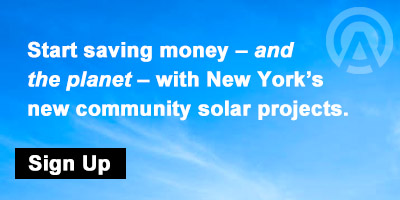 Sign up for New York's new community solar